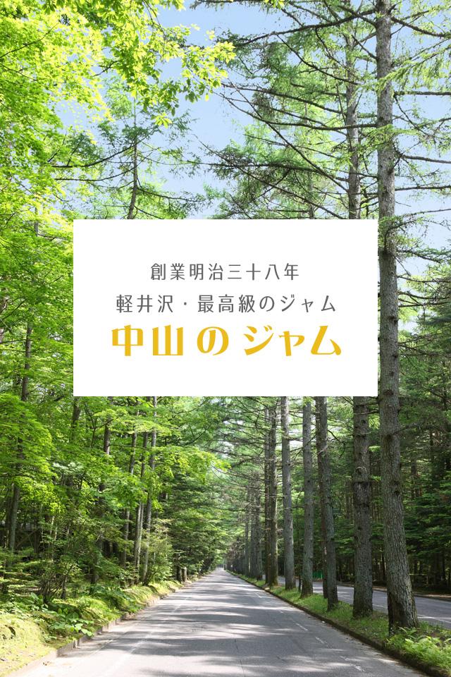 創業明治38年 軽井沢最高級のジャム 中山のジャム